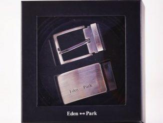 c5480054346 Coffret ceinture Cadmie avec 2 boucles EDEN PARK sur grande-marque.fr